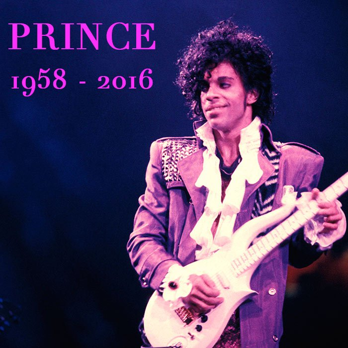 "This is what it sounds like ""When Doves Cry"" ... #Prince #RIP #ICON #Legend https://t.co/iwDXZXCxIL"