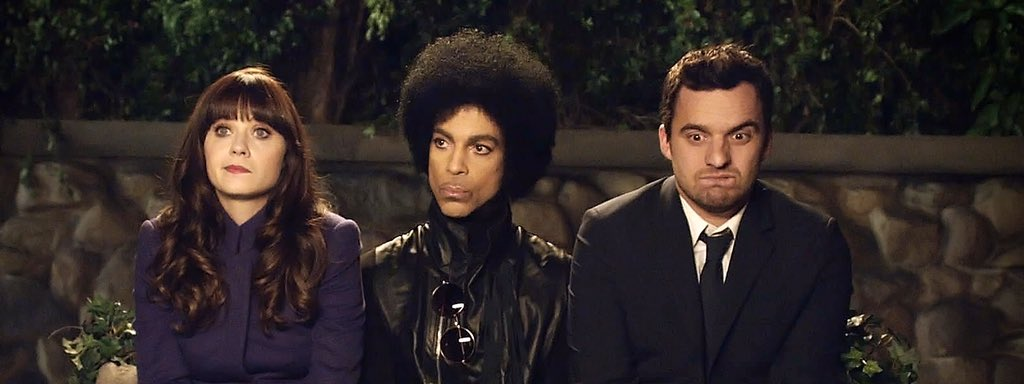 RIP to the man who didn't walk...he Floated! Pleasure working with you! #Prince. Us over at New Girl miss ya already https://t.co/qVInbyioby
