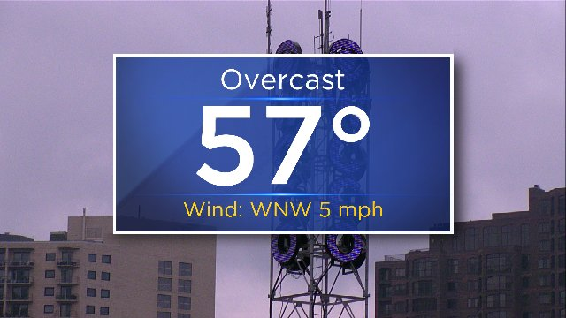 Our Weather Watcher is purple for Prince.  Note how the current temp reflects his age. RIP PRN. https://t.co/v5Joyg8orB