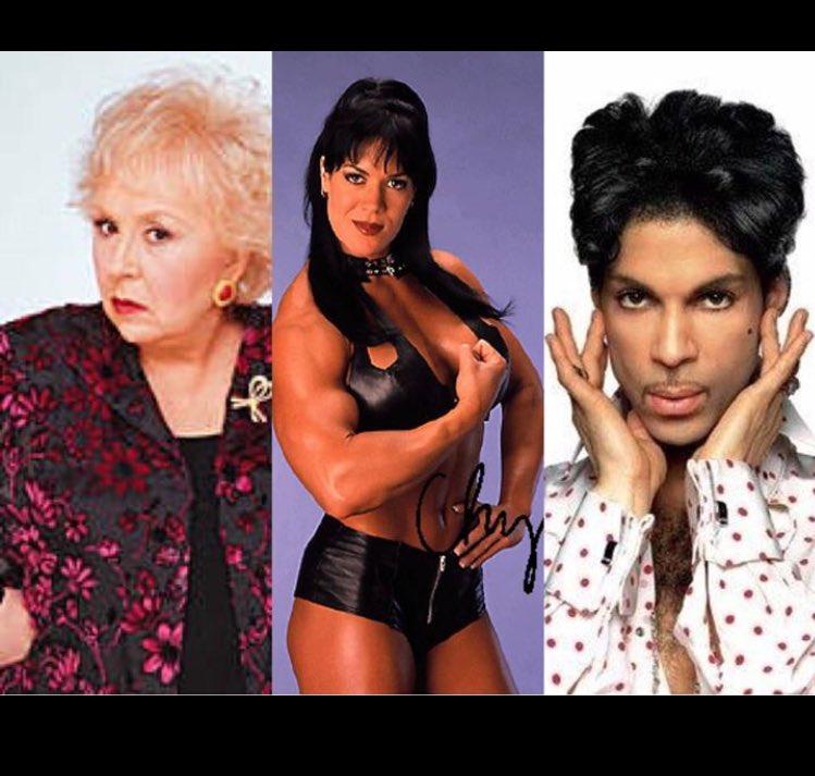 Rest easy Doris, Chyna, & Prince