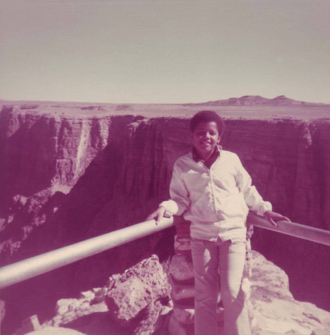 Obama at Grand Canyon in the 70's. He has saved more lands & parks for public use than any President in decades. https://t.co/6Ck9MXtL37