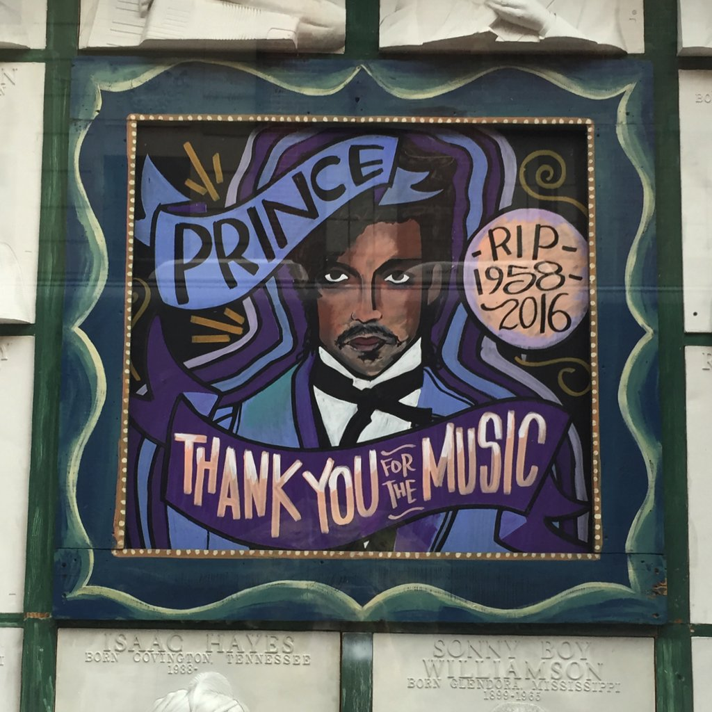 Dearly beloved, We are gathered here today to get through this thing called life…  @HOBNOLA pays tribute to Prince.