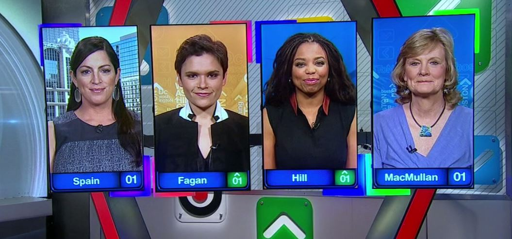 .@AroundtheHorn squad for today. A little show history. Now on ESPN. https://t.co/Y5YQD2sz0s