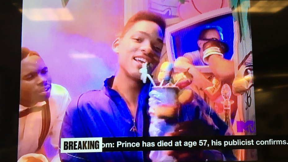 MTV played a Will Smith music video during their Prince tribute