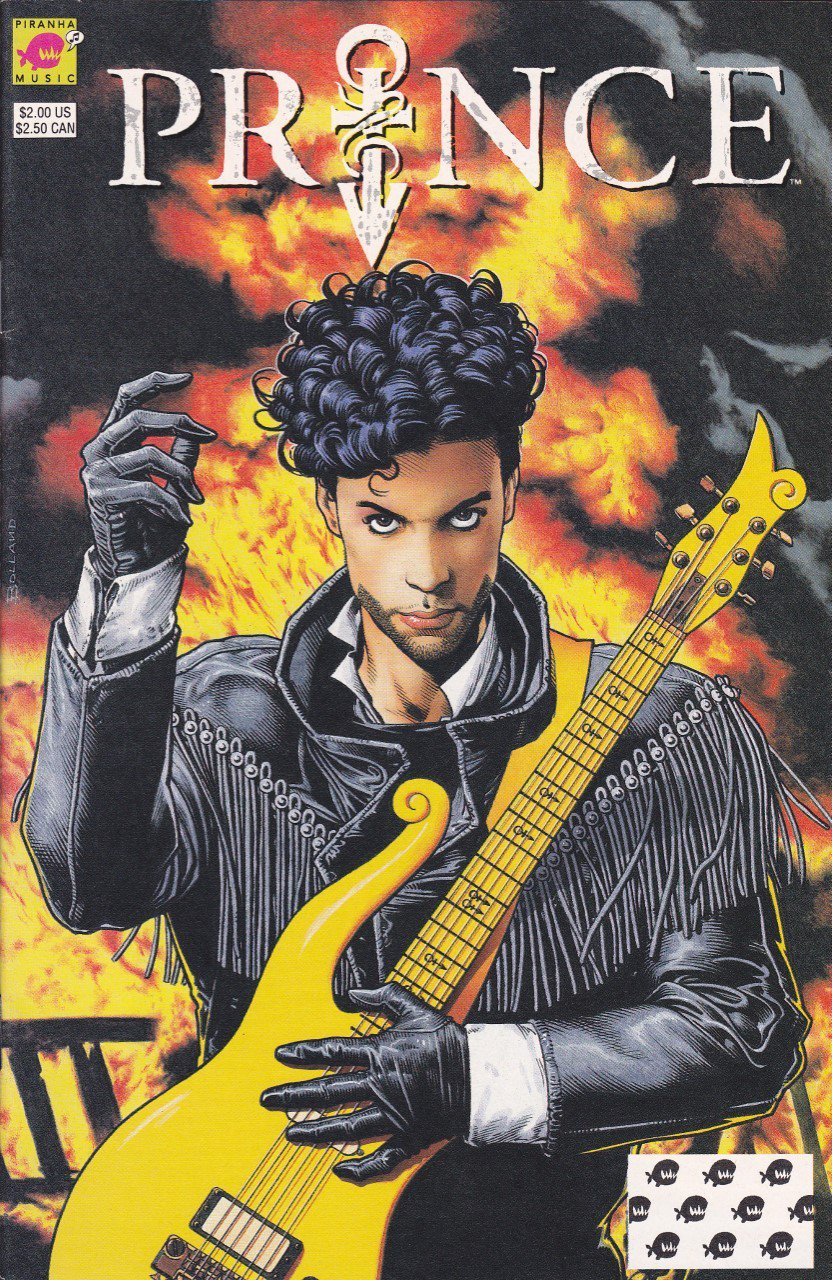 You will be missed, Prince. [image: Brian Bolland's Prince cover from DC's Piranha Press imprint circa Dec. 1991] https://t.co/UnQqCqQxPr