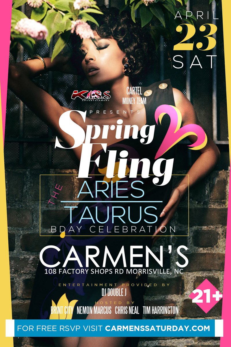 Saturday The Move is #CARMENS! Free RSVP at https://t.co/OU9xXbxZ8V https://t.co/mKYLMPsGZm
