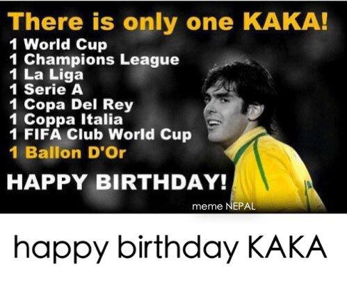 KAKA, the beauty ! Happy Birthday. April