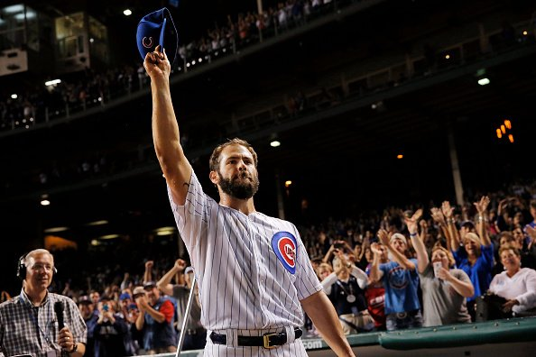 Jake Arrieta's last 16 starts:  15-0, 0.53 ERA 2 no-hitter's  *these stats are stupid* https://t.co/GhD7E9YqQI