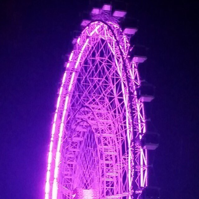 Beautiful, glowing tribute to Prince by the @OrlandoEye.