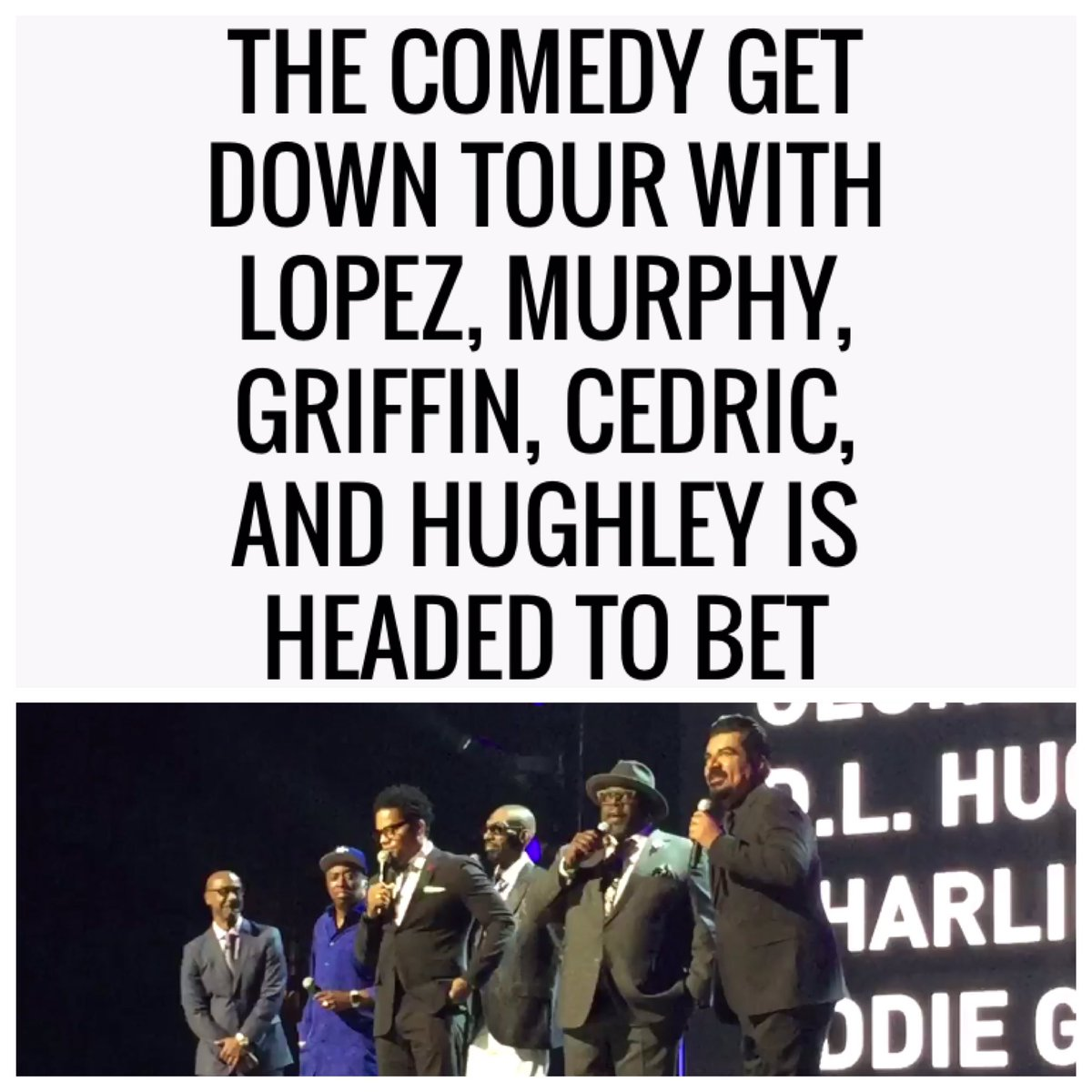 Congrats @ComedyGetDown Fam!!! xoxo ❤️ @RealDLHughley @georgelopez @CedEntertainer @EddieGriffinCom @charliemurphy https://t.co/nmfVDF3Tzd