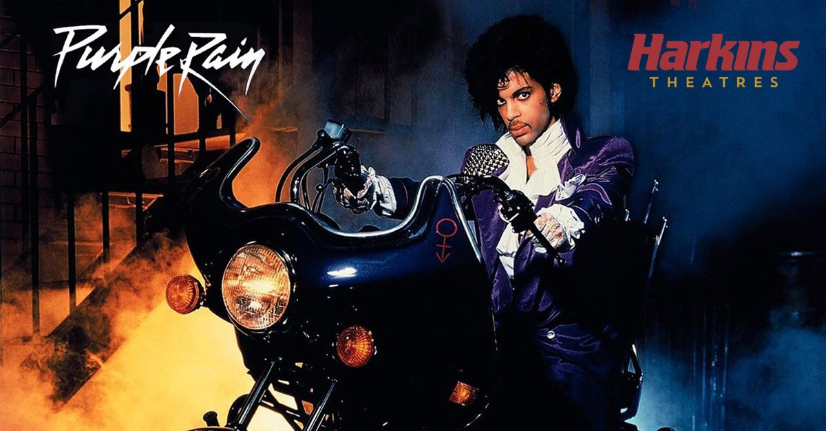 Harkins is honoring Prince w/ 2 showings of Purple Rain at select theatres. Tickets are $5 & benefit City of Hope. https://t.co/DXchCu3JRG