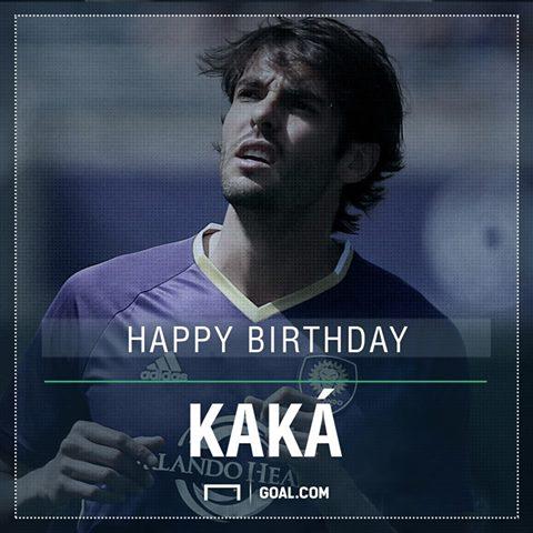 Happy 34th birthday to Ricardo Kakà!