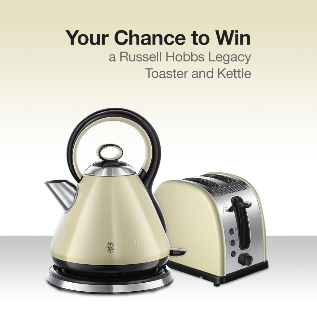 You could #win a @RussellHobbsUK Legacy Toaster