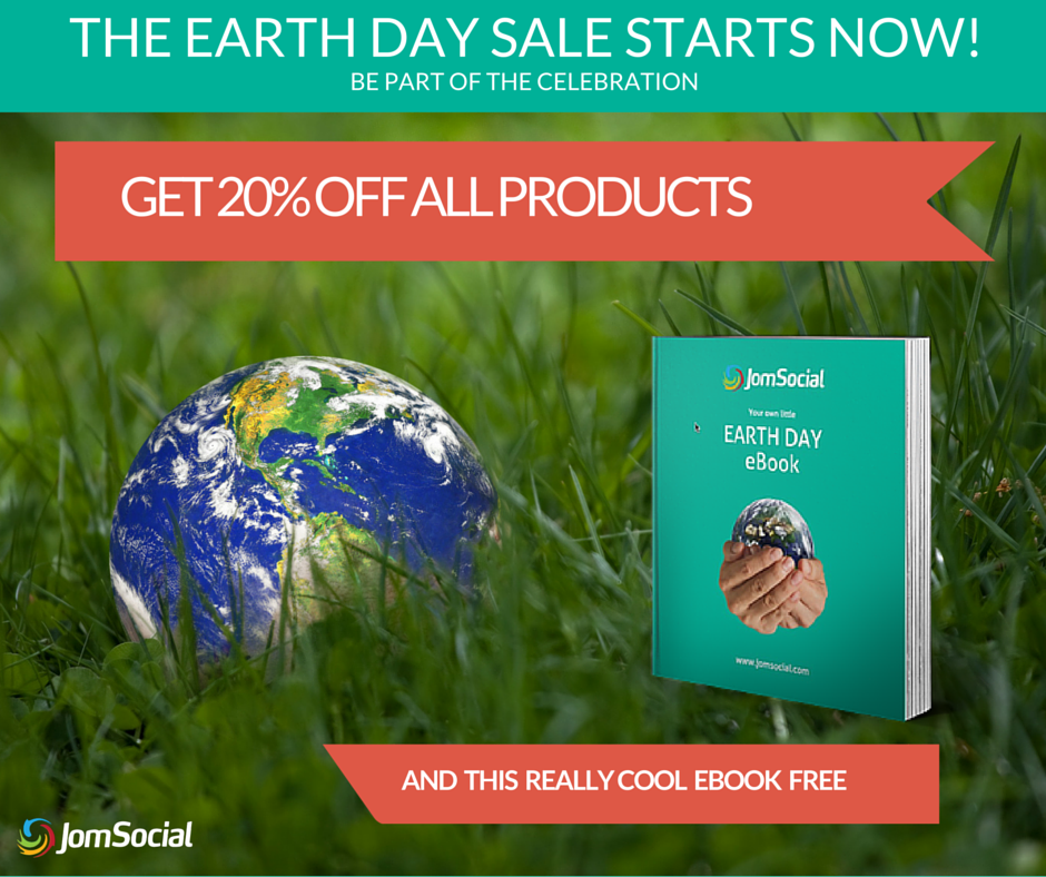 Celebrate #earthday2016 with JomSocial for #Joomla. 20% OFF store wide. https://t.co/13u9ZSXoym https://t.co/ZuK1M6aroc