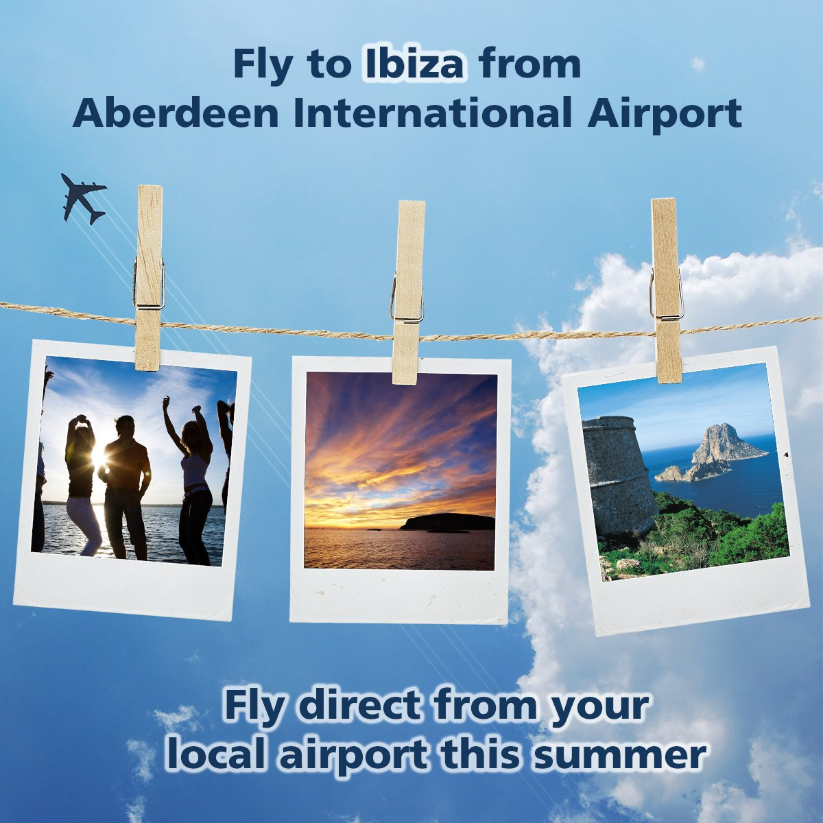Fly direct to Ibiza from your local airport this summer!