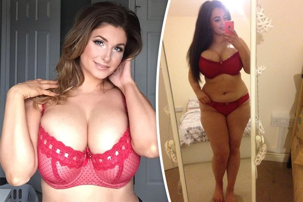 Curvy Women With D K Cup Boobs Strip To Become Next Top Model Scoopnest Com