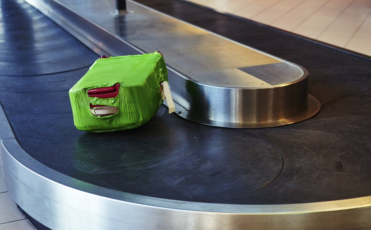 The secret life of your luggage in transit, revealed in this clip!