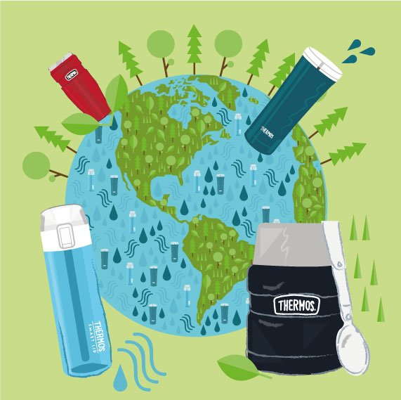 Help reduce waste of disposable cups by using reusable Thermos brand products. #EarthDay https://t.co/VpME4CuPIw