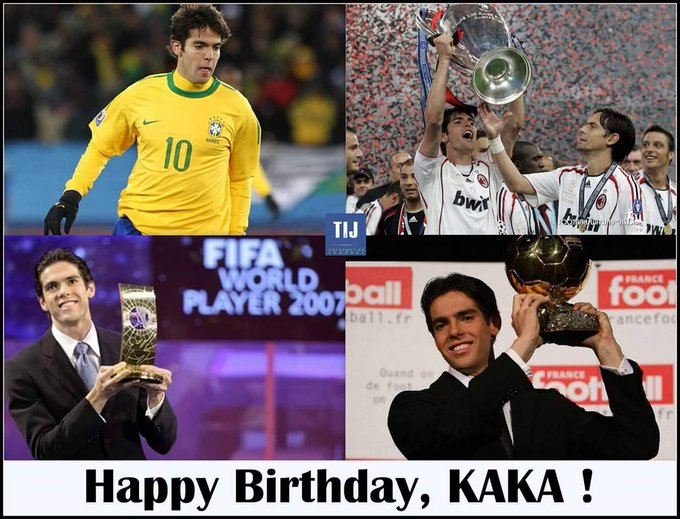 The Special one with zero hatters.   Happy Birthday Ricardo Kaká.