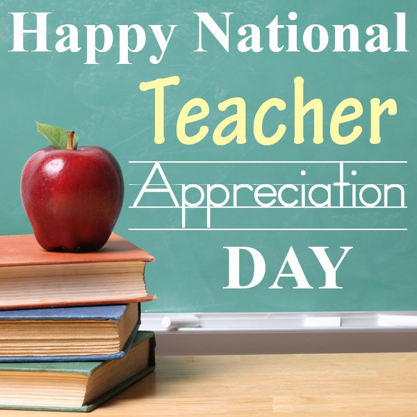 Today, on #NationalTeacherDay, we thank you, teachers, for all that you do #ThankATeacher @NEAToday @AFTunion https://t.co/pgghRm3PED