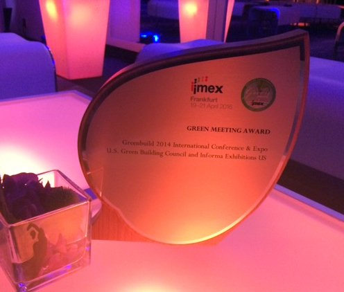 How does Greenbuild celebrate #EarthDay? By winning the @IMEX_Group Green Meeting Award! https://t.co/562qXhSChs https://t.co/1MvuCFKBmv