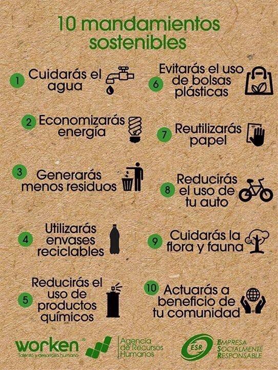 #FelizViernes Estas son algunas medidas para mejorar el ambiente,¿cuáles has incorporado a tu rutina? #DíaDeLaTierra https://t.co/TTVXSwHt43