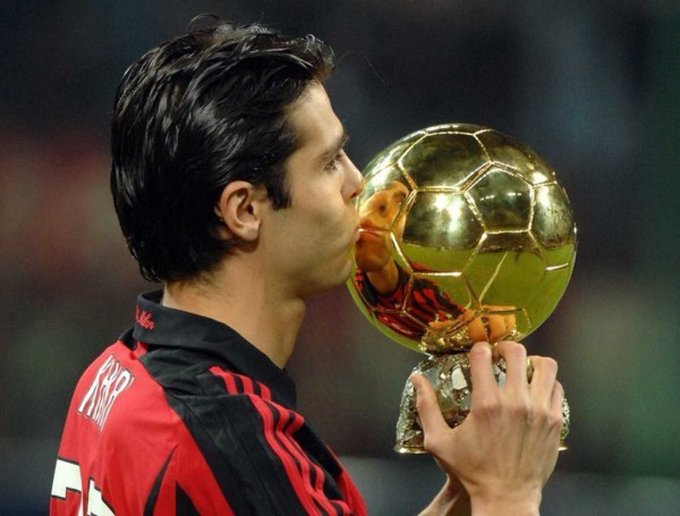 Happy 34th birthday to Kaká!  He\s the last player other than Messi & Ronaldo to win the Ballon d\Or (in 2007).