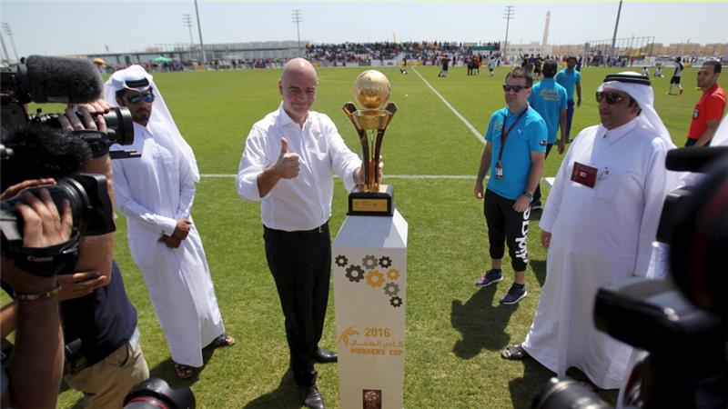 Football: FIFA to set up worker welfare body for Qatar 2022. By @hafsa_adil