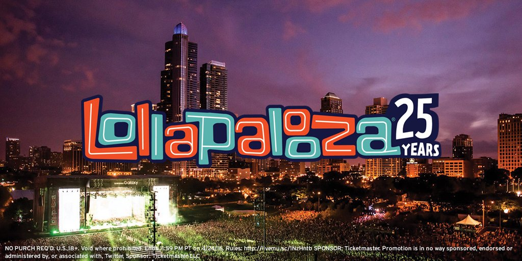 Happy #FESTGOALS Friday ✌️ RT for a chance to win two 1-Day Passes to @Lollapalooza! #LollaEntry https://t.co/Phk4yqfz27