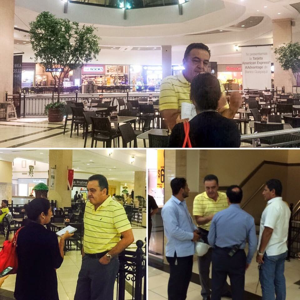 Alcalde de Samborondón recorrió Village Plaza y verificó q estructura del edificio está en perfectas condiciones 1/2 https://t.co/8JIhVwLIb2