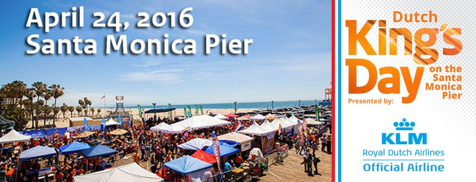 Come to the Santa Monica Pier Sunday for LAKingsDay presented by KLM! For more Info: