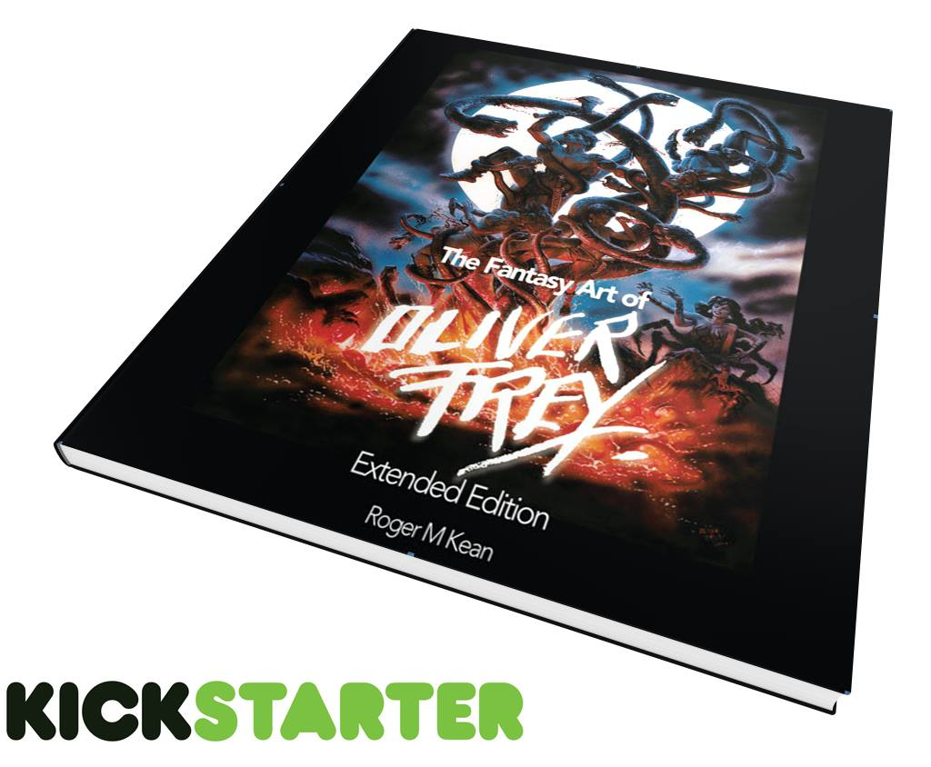 Kickstarter for 'The Fantasy Art of Oliver Frey Extended Edition' starting on the 29th April @ 9am. Please RETWEET https://t.co/yLkT2eOMBn