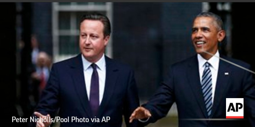 Obama, Cameron meet as Britain debates European Union exit: