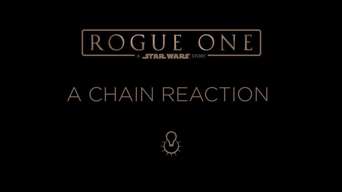 Chain reaction – ILM's ROGUE ONE crew reacts to all those fan reaction videos. https://t.co/9Yf2C9fnbD #StarWars https://t.co/SgtlnTkrrf