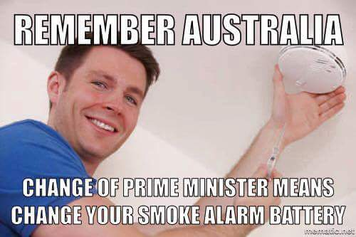 Excellent tip from Bunbury electrician Andrew Scott with a deep insight into recent Australian politics #auspol https://t.co/8WtKi5TrgY