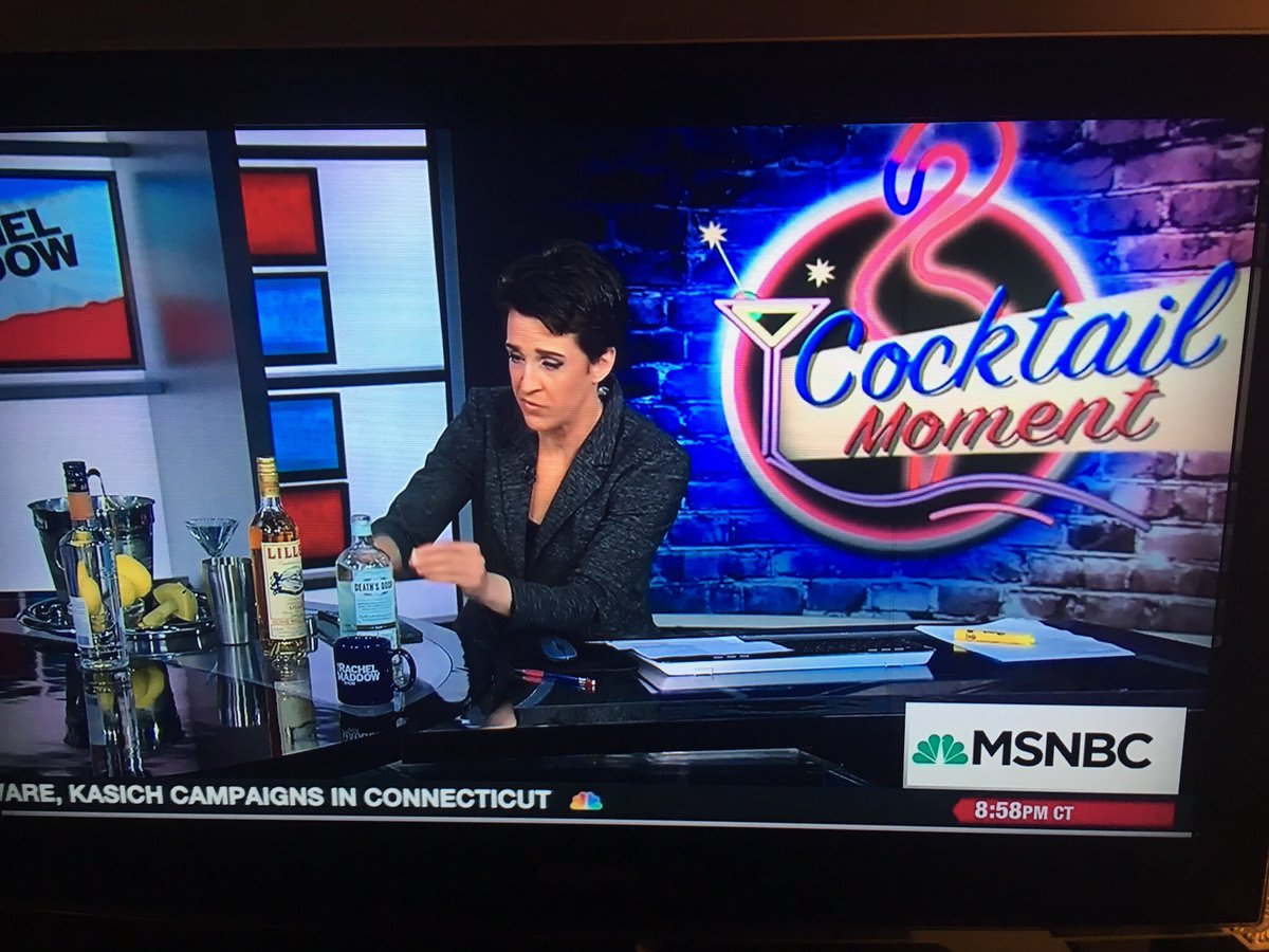 ♥️ how @maddow celebrates #harrietttubman on $20 bill. DD #gin from great state of #Wisconsin. #cocktails https://t.co/iDPBSLwV5I
