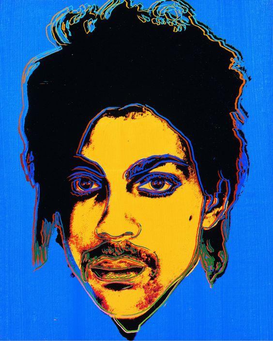 Andy Warhol's portrait of Prince https://t.co/zrtGM8exDf