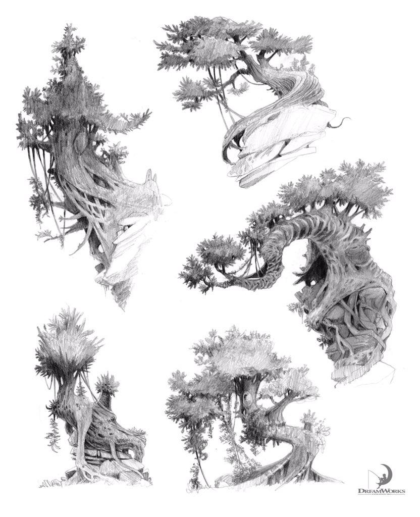 Nicolas Weis. He draws the best trees. https://t.co/IZwUBN3E29