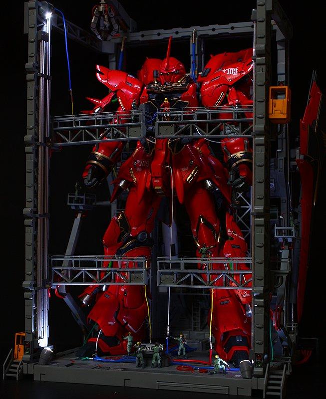 ついに、機動戦士ガンダムUC RE:0096に、シナンジュが登場しますね。個人的に好きな機体なので、楽しみです。最新カッ