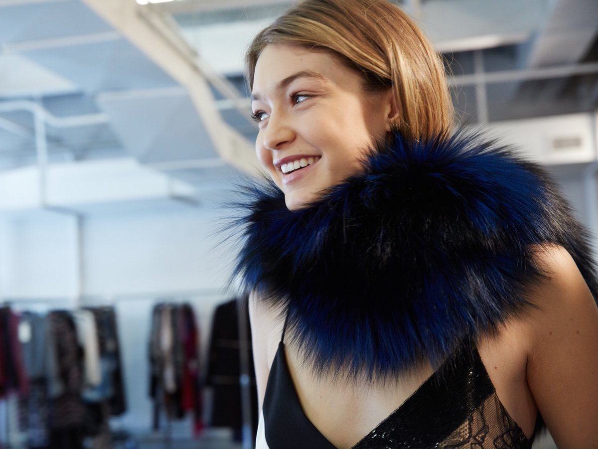 Happy birthday to the always radiant @gigihadid! You are as beautiful inside ! Love Diane