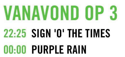 Even een heads up: NPO3 zendt zo Sign O'The Times en Purple Rain uit. #Prince https://t.co/WcxqK11uvA