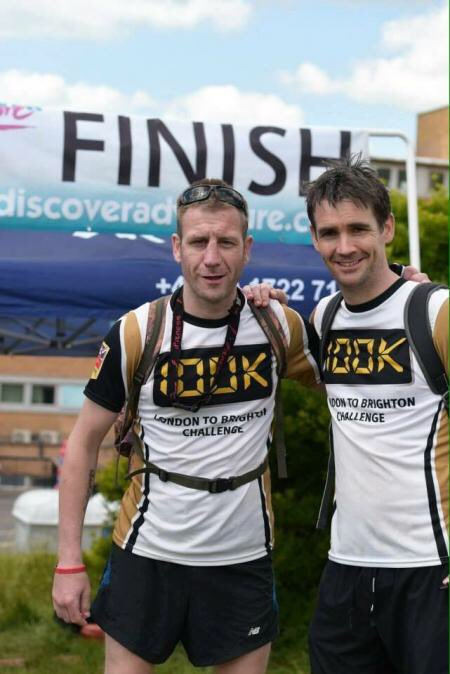 Good luck @BenBlack and Karl  running the @LondonMarathon for @BlindVeterans https://t.co/CBPOcqFY8M