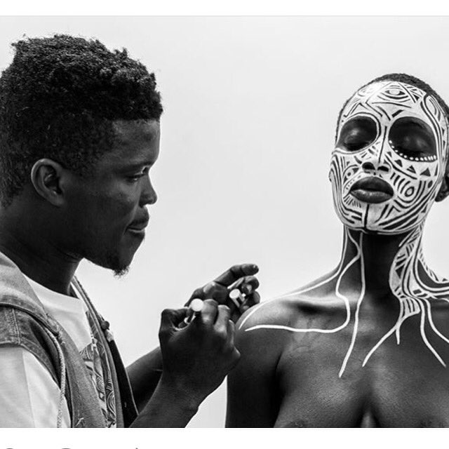 So excited to see the work of Nigerian artist Laolu (@Afromysterics) in Beyonce's #lemonade on HBO tonight. 9pm