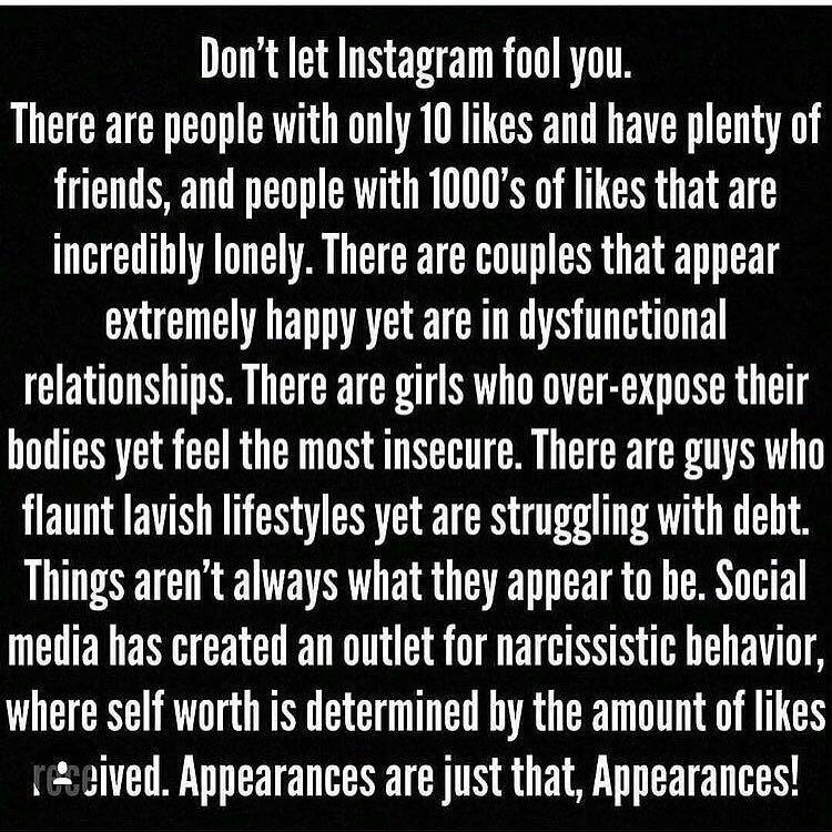 Don't let your life revolve around social media, keep it real https://t.co/vqBzkn5MyB