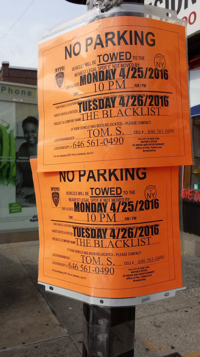 @olv #TheBlackList on Bell Blvd by Northern Blvd in Bayside, NY (Queens) near the Bayside LIRR Train Station https://t.co/jW2xPCyubx