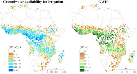 Is #groundwater irrigation the key to food security in Sub Saharan Africa? Maps from @IWMI_ https://t.co/xzbwfALCTu https://t.co/yaReOnvpht