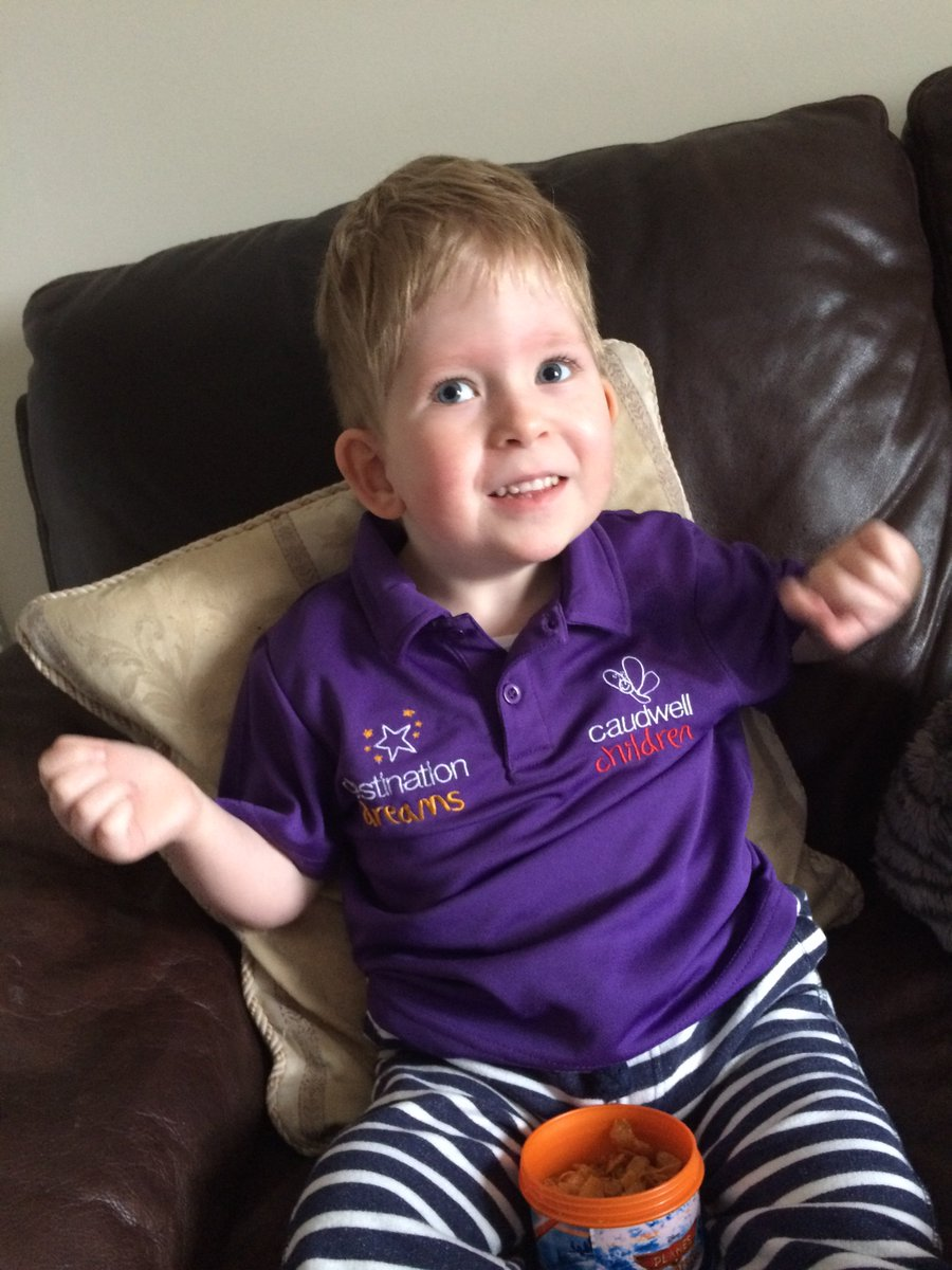 Good luck to Uncle Richard running for @caudwellkids @BBCSport @virgin #oneinamillion #getinspired #HugsForNoah https://t.co/KM7R1tXKBw