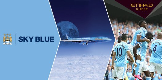 Score a trip for two to watch @MCFC by taking part in the EtihadGuest Sky Blue Challenge: