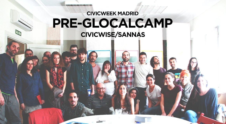 Gracias a los asistentes y colaboradores de la Semana Cívica!! Próxima cita > @GlocalCamp Paris 2016 @urbanohumano https://t.co/cO0XXuRSrL