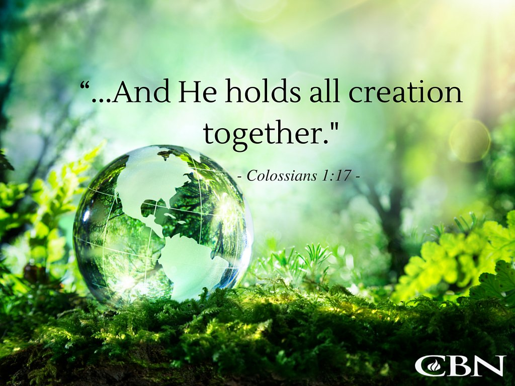 """""""He existed before anything else, and he holds all creation together."""" - Colossians 1:17 #HappySunday https://t.co/Y5ID7LMl99"""